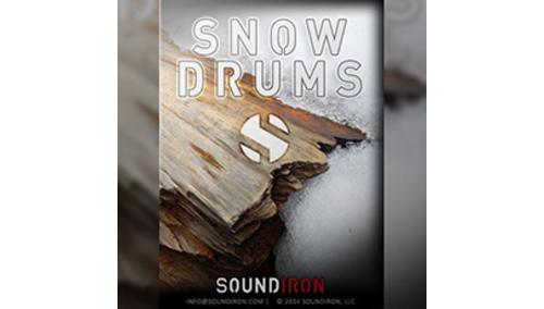 SOUNDIRON SNOW DRUMS