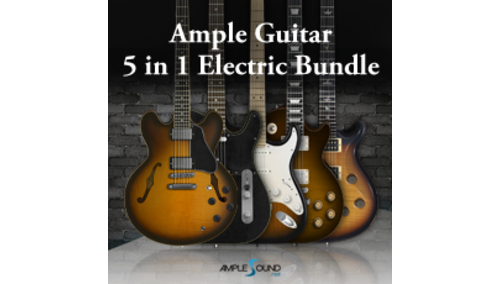 AMPLE SOUND AMPLE GUITAR 5 IN 1 ELECTRIC BUNDLE