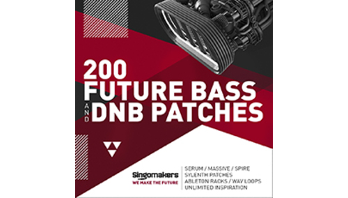 SINGOMAKERS 200 FUTURE BASS & DNB PATCHES