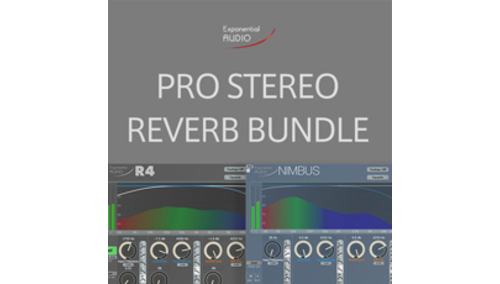 EXPONENTIAL AUDIO PRO STEREO REVERB BUNDLE の通販。(Rock oN