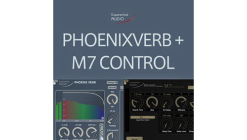 EXPONENTIAL AUDIO PHOENIXVERB + M7CONTROL