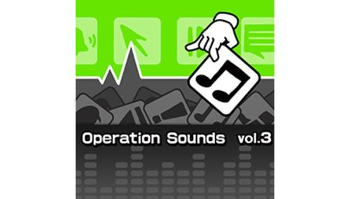 ポケット効果音 OPERATION SOUNDS VOL.3