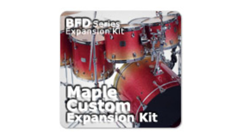 Fxpansion BFD3/2 Expansion KIT: Maple Custom Kit
