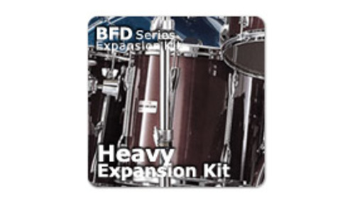 Fxpansion BFD3/2 Expansion Pack: Heavy