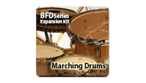 Fxpansion BFD3/2 Expansion Pack: Marching Drums