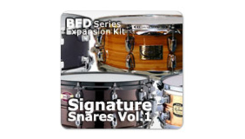 Fxpansion BFD3/2 Expansion Pack: Signature Snares Vol.1