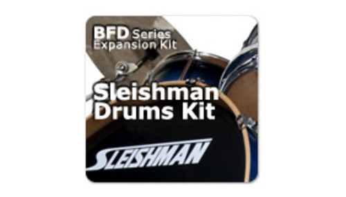 Fxpansion BFD3/2 Expansion Pack: Sleishman Drums