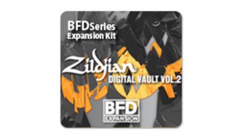 Fxpansion BFD3/2 Expansion Pack:Zildjian Digital Vault Vol.2