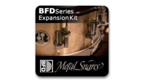 Fxpansion BFD3 Expansion Pack: Metal Snares