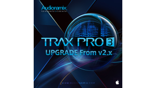 AUDIONAMIX TRAX PRO 3 UPGRADE FOR V2