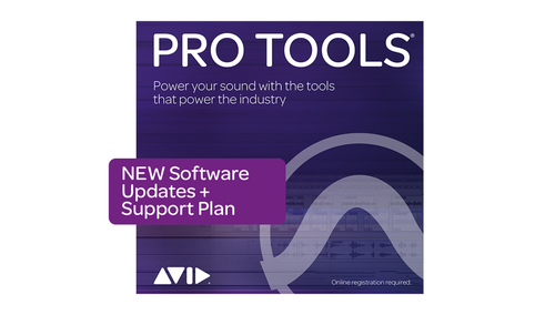 Avid Pro Tools 1-Year Software Updates + Support Plan NEW DL版