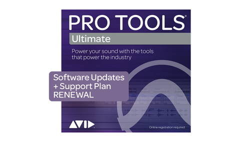Avid Pro Tools | Ultimate 1-Year UPD + Support Plan RENEWAL ダウンロード版