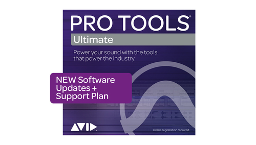 Avid Pro Tools | Ultimate 1-Year UPD + Support Plan NEW DL版
