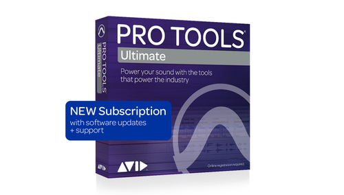 Avid Pro Tools | Ultimate  1-Year Subscription NEW DL版