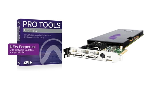 Avid HDX Core with Pro Tools | Ultimate Perpetual License NEW
