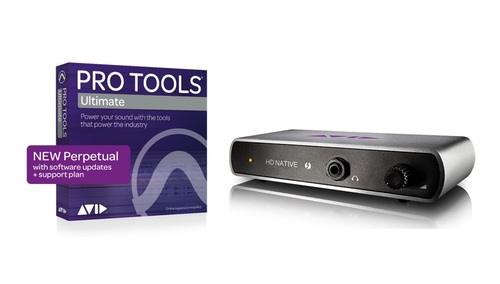 Avid Pro Tools HD Native TB with Pro Tools | Ultimate Perpetual 開封B級品 ★半期大決算SALE 第二弾!