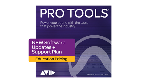 Avid Pro Tools 1-Year Software Updates + Support Plan NEW - EDU DL版