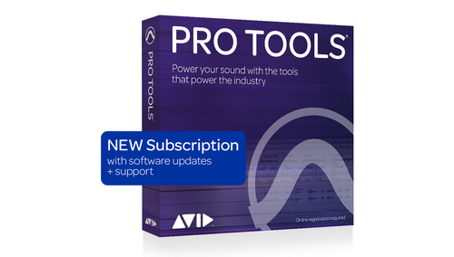Avid Pro Tools 1-Year Subscription NEW DL版 ★通常価格よりも20%OFF!さらにUVI「Falcon」とUVIピアノ音源プレゼント!