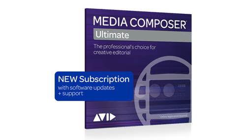 Avid Media Composer Ultimate 3-Year Subscription NEW DL版