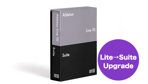 Ableton KK Live 10 Suite, UPG from Live Lite(ダウンロード版)