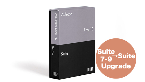 Ableton KK Live 10 Suite, UPG from Live 7-9 Suite
