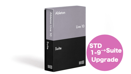 Ableton KK Live 10 Suite, UPG from Live 1-9 Standard
