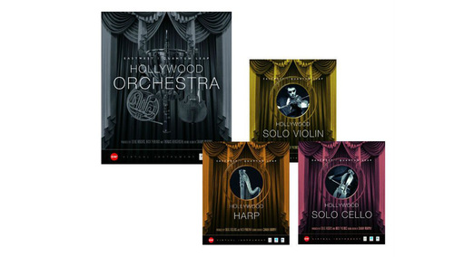 East West HOLLYWOOD ORCHESTRA Gold + SOLO INSTRUMENTS