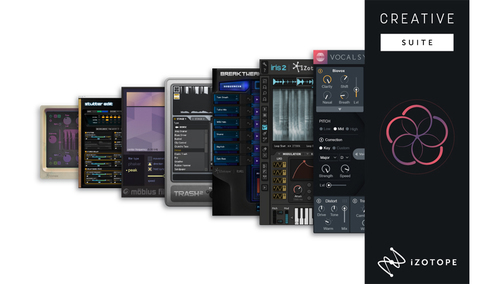 iZotope Creative Suite ★ALL30%オフ!iZotope ボーナスキャンペーン!