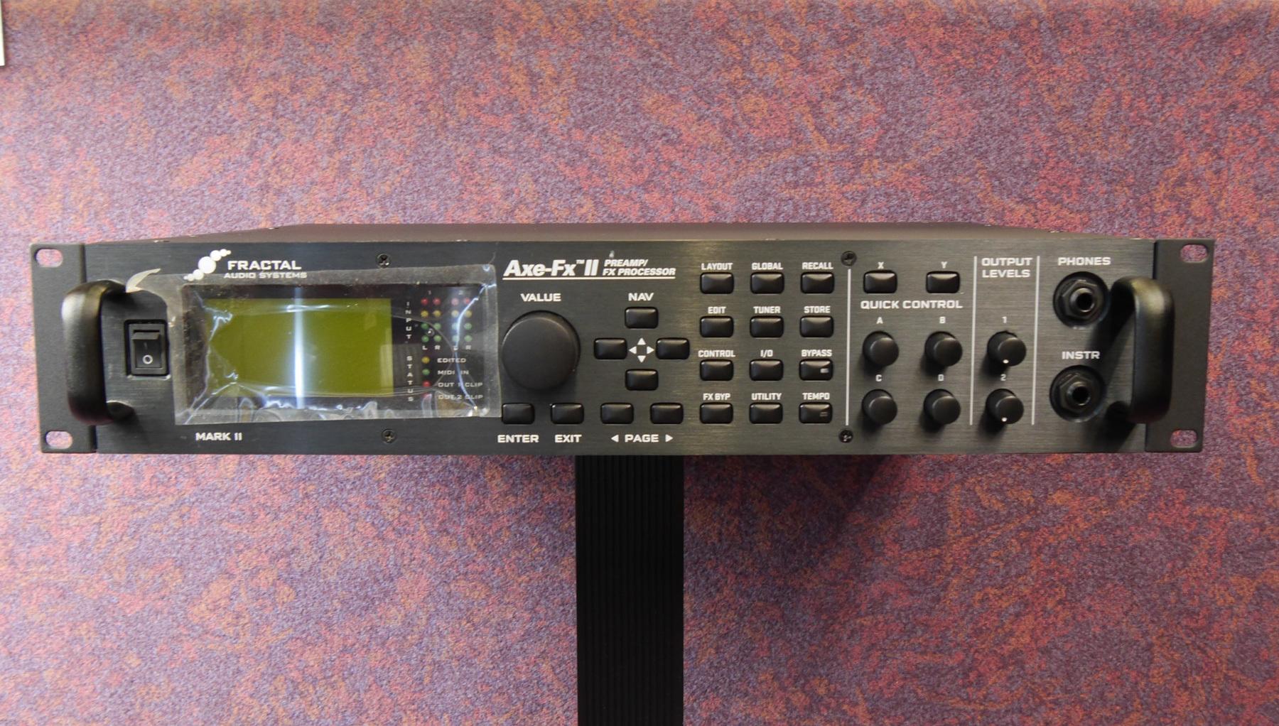 アンプシミュレータ fractal audio systems axe fx ii rock on line estore
