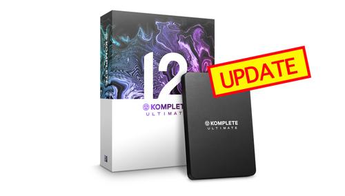 Native Instruments KOMPLETE 12 ULTIMATE UPD ★UVIピアノ音源プレゼント!