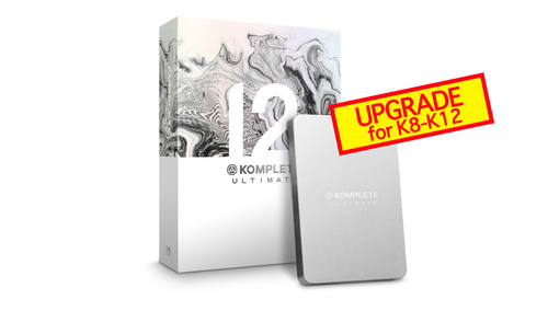 Native Instruments KOMPLETE 12 ULTIMATE Collectors Edition UPG FOR K8-12