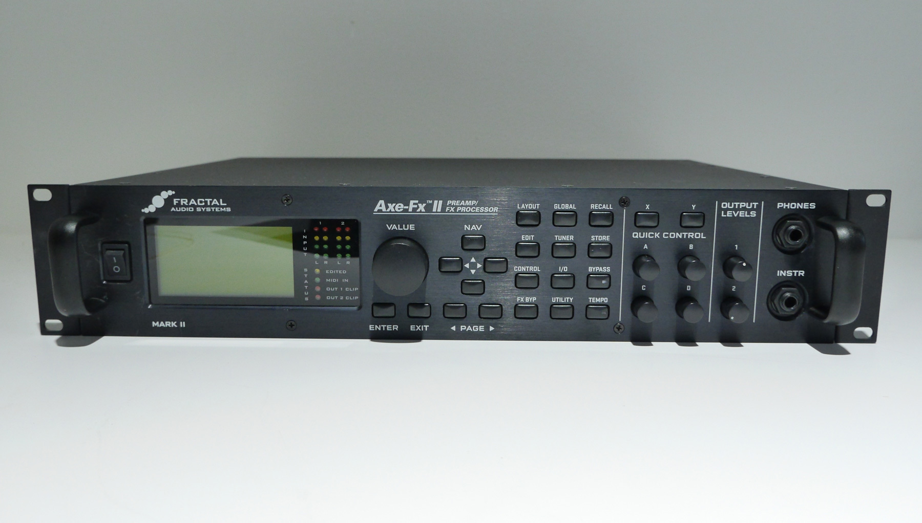 アンプシミュレータ fractal audio systems axe fx ii mark ii 2018年