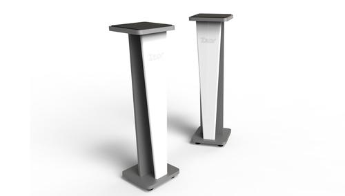 Zaor Croce Stand 42 (pair) White Gloss/Grey