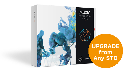 iZotope Music Production Suite 2 クロスグレード ★Mixing and Masteringキャンペーン 在庫限り!