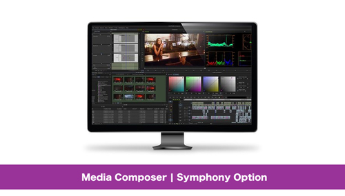 Avid Media Composer | Symphony Option DL版